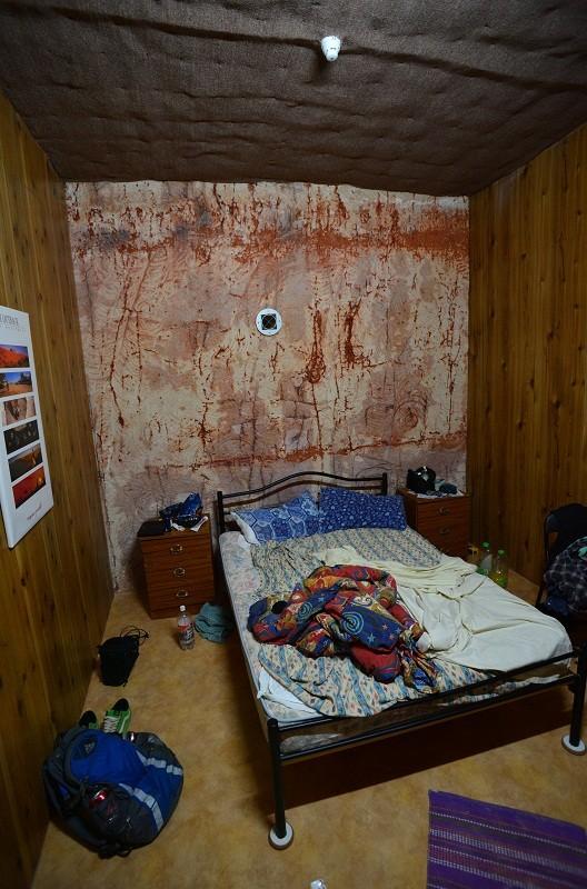 Das Zimmer, natürlich bereits ordentlich verunordentlicht durch seine Bewohner.