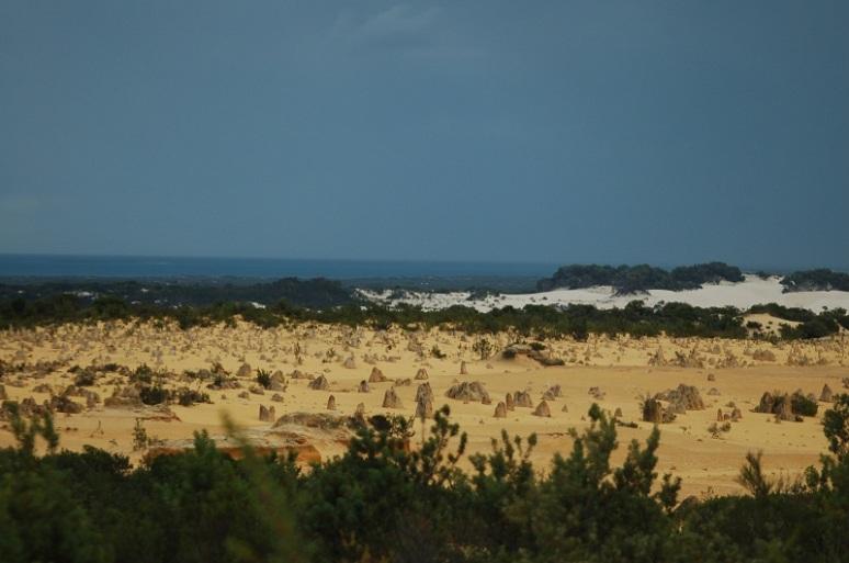 Wüste, Strand, Meer. Muss so.